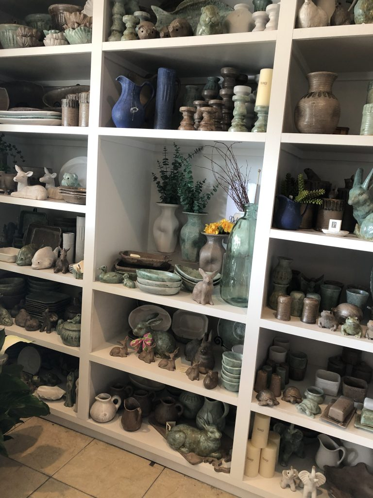 Pottery at Green Apple